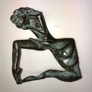 "Ballerina, Oleg Zakomorny, 7"", Bronze, $1600"
