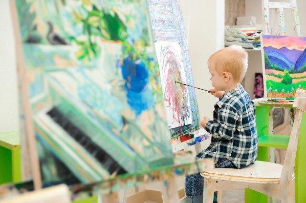 Art School by Irina Borodina