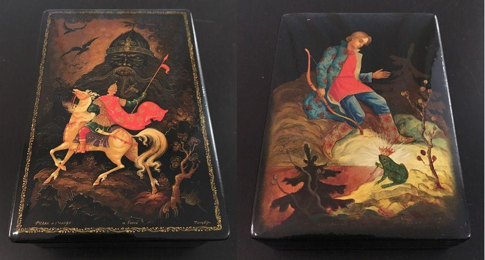 """""""Fairy Tales in Lacquer"""" Exhibition"""
