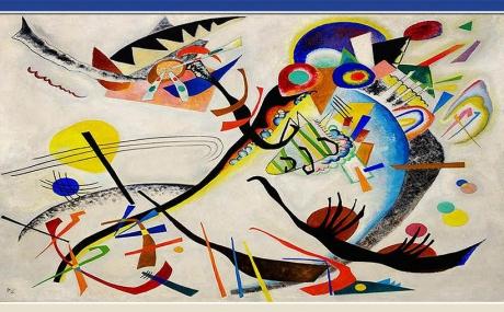 Russian Art - Wassily Kandinsky